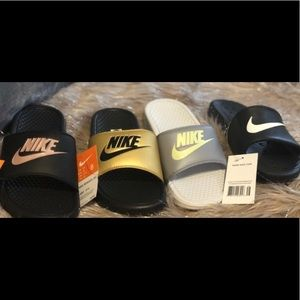 Nike slides new with tags